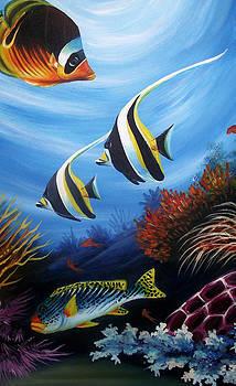 Underwater-4 by Naushad  Waheed
