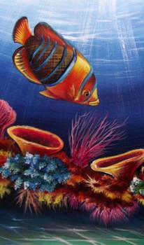 Underwater-5 by Naushad  Waheed