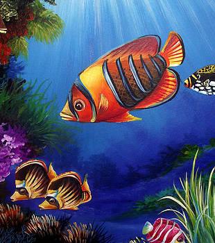 Underwater-6 by Naushad  Waheed