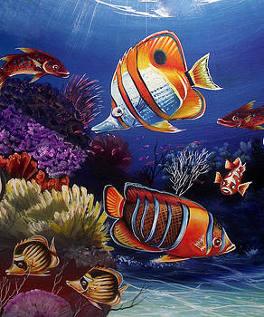 Underwater-8 by Naushad  Waheed