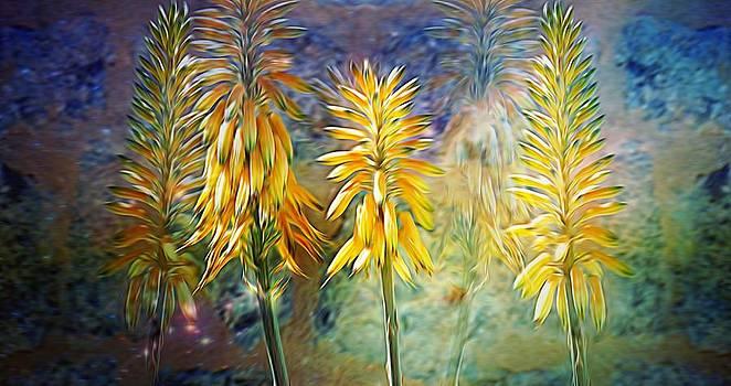 Underwater flowers by Esther Branderhorst