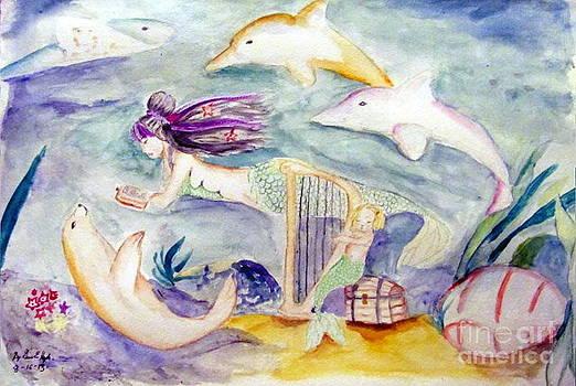 Underwater Imagination by Gina Hyde
