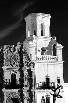 Douglas Taylor - UNFINISHED BELL TOWER - SHADES OF GREY
