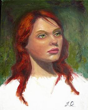 Unforgetable Girl With Red Hair by Osborne Lorlinda