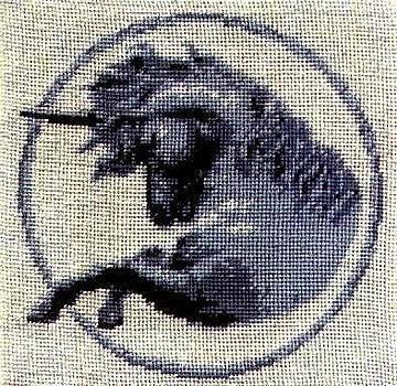 Unicorn by Mona  Bernhardt-Lorinczi