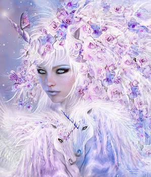 Carol Cavalaris - Unicorn Rose Goddess
