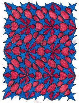 Unicursal Symmetery 49 by Jetje Walachia