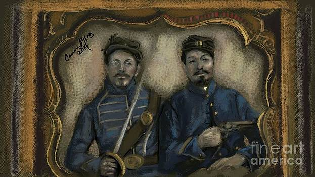 Unidentified Union Soldiers by Carrie Joy Byrnes