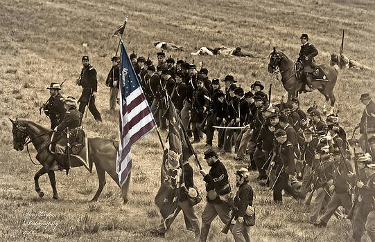 Union Army on the March by Stanley Lupo