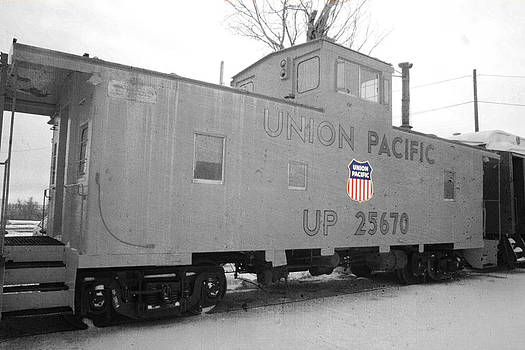 Union Pacific Cab by Steven  Taylor