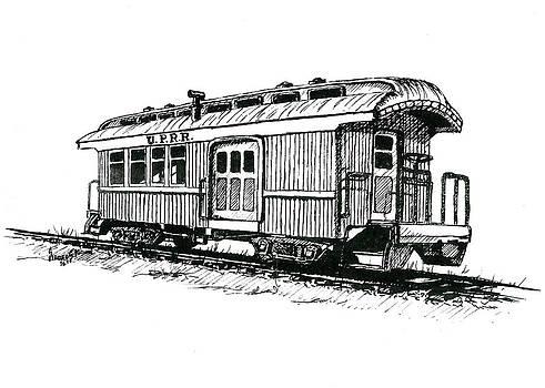 Sam Sidders - Union Pacific Combine Car
