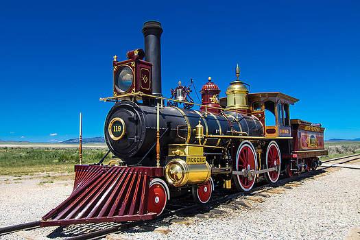 Union Pacific  Lokomotive No. 119 by Juergen Klust