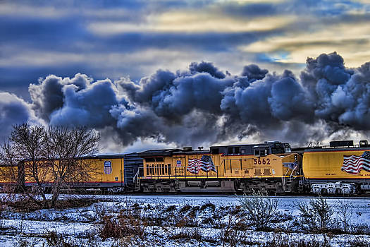 Union Pacific Train by Jeff Swanson