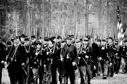 Union Soldiers by Donald Williams