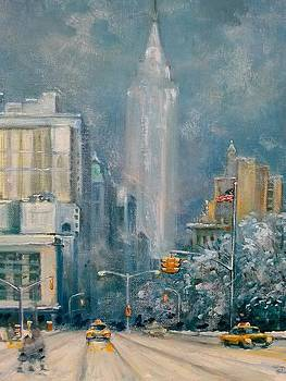 Union Sq  Nyc by Philip Corley