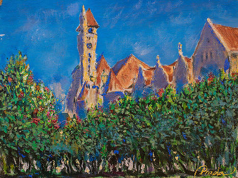 Union Station behind the bushes by Horacio Prada