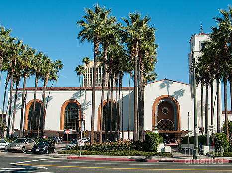 Union Station Los Angeles by Lee Roth