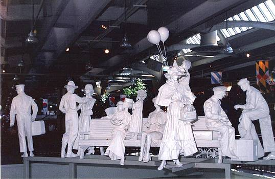 Union Station  Sculpures by Pat Mchale