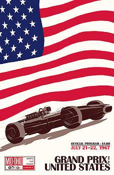 Georgia Fowler - United States Grand Prix 1967
