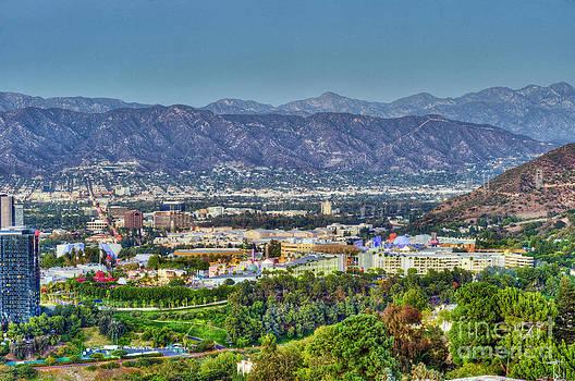 David Zanzinger - Universal City Warner Bros. Studios Clear Clear Day