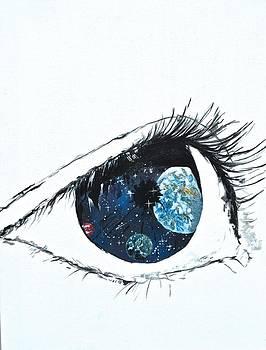 Universal Eye by Gregory Merlin Brown