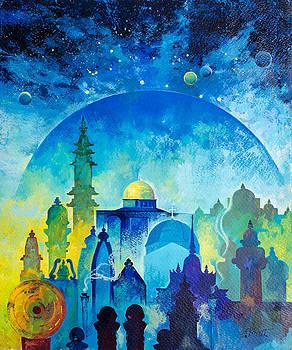 Universal religion by Kitipong Bhalatanya