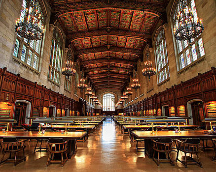 University of Michigan Law Library by Matt Russell