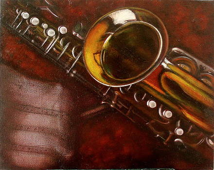 Unprotected Sax by Sean Connolly