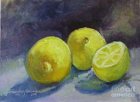 Unripe Lemons by Thomas Phinnessee