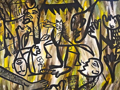 Unschooled  Picasso by Esther Anne Wilhelm