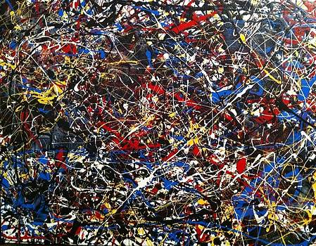 Untitled 5 Jackson Pollock Inspired by Vanessa Carpenter
