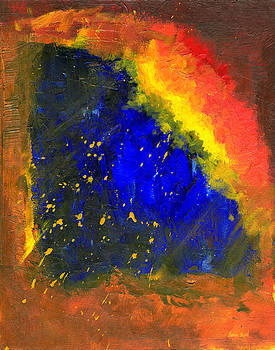 Untitled Abstract 8-1614 by Sean Seal