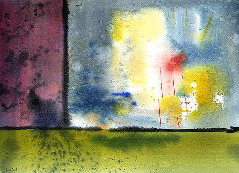 Untitled Abstract 84-14 by Sean Seal