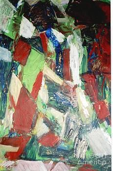 Untitled CompositionII by Fereshteh Stoecklein