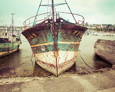 Vintage Fishing Boat  by Joshua McDonough