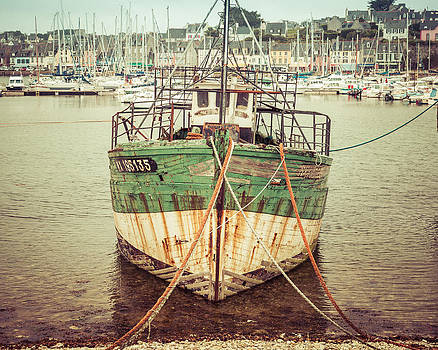 Vintage Fishing Boat II by Joshua McDonough