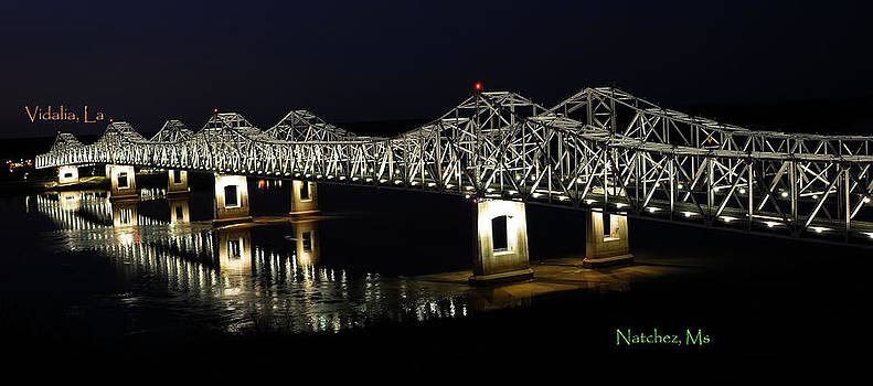 Natchez Bridges by Leon Hollins III
