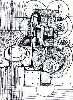 Steampunk - drawing 1 by Stephen Lucas