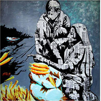 Untitled XVI by Naresh  Kumar