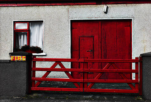 Unused Fire Station Newport by Tony Reddington