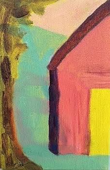 Unusual Barn by Molly Fisk