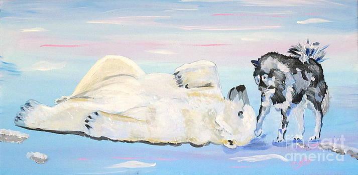 Unusual Buddies In Alaska by Phyllis Kaltenbach