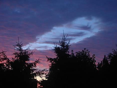 Unusual Cloud Formation by Michael Kovacs