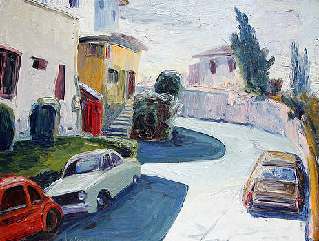 Old Cars Park Here by John Matthew