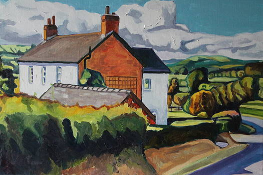 Up Llandeilo Way by Emma Cownie