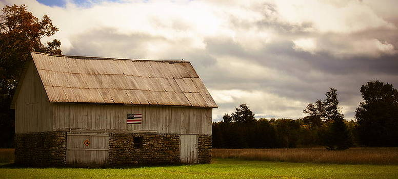 Marysue Ryan - Patriotic Barn