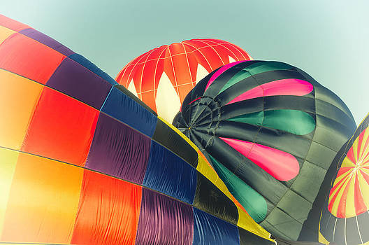Up up and away in my balloon by Dick Wood