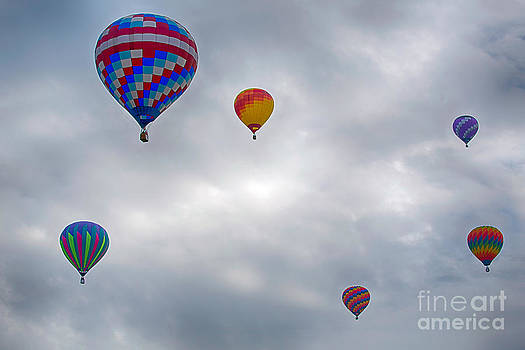 Up Up and Away by Joenne Hartley