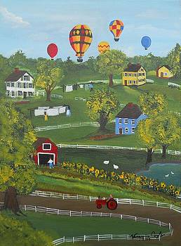 Up Up and Away by Virginia Coyle