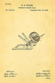 Ian Monk - Upjohn Dissolvable Pill Patent Art 1885